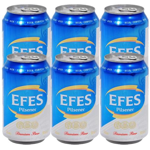 6x Efes Non-Alcoholic Beer Big (Tin) 330ml