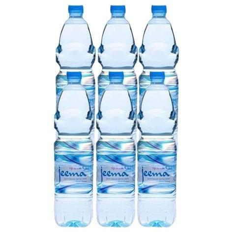 6x Jeema Pure Drinking Water 1.5 litres