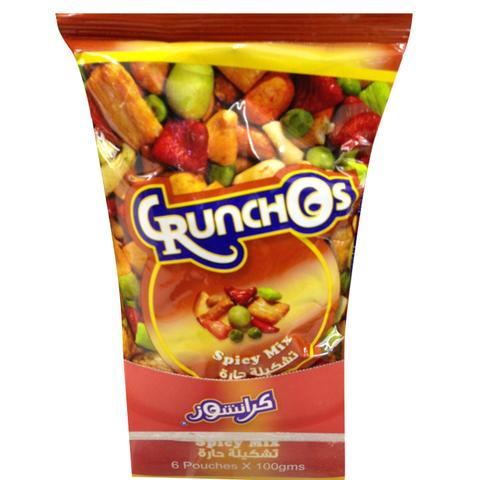 Crunchos Spicy Mix 100g