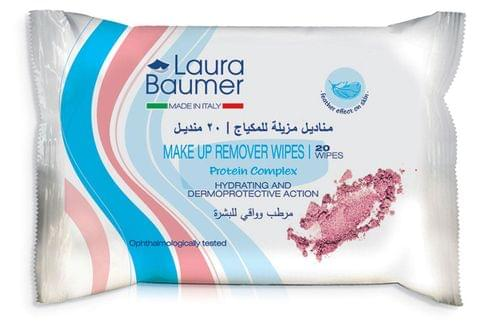 Laura Baumer Make Up Remover Wipes 20's
