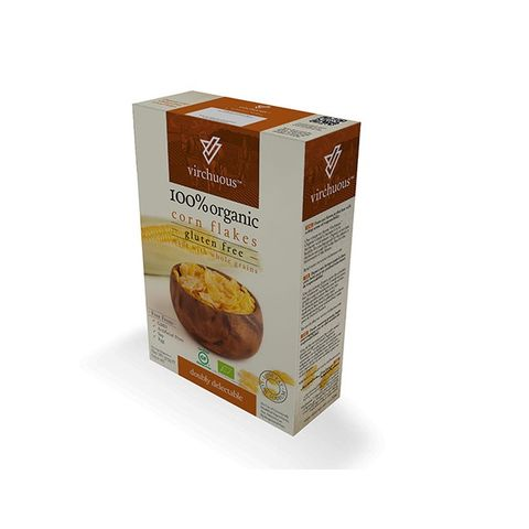 Organic and Gluten-Free Sweetened Corn Flakes 375gm