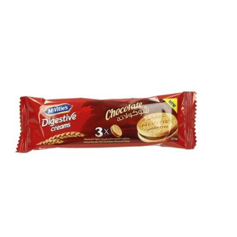 Mcvitie's Digestive Chocolate Cream-24x37