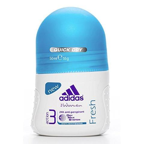 Adidas Fresh Roll-On  Antiperspirant 50ml Blue