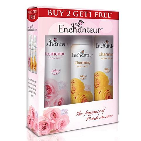 Enchenteur Body Mist 150ml 2+1 Free