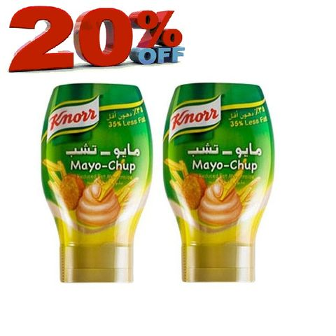 Knorr Mayo Chup 295ml twin Pack20%Off