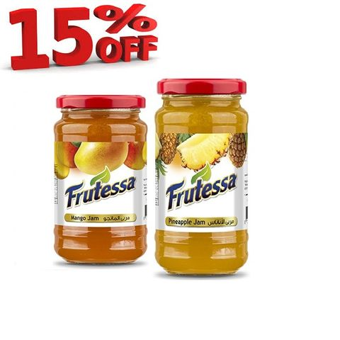 Fruitessa Jam Asst Twin 15% Off 2x420gm