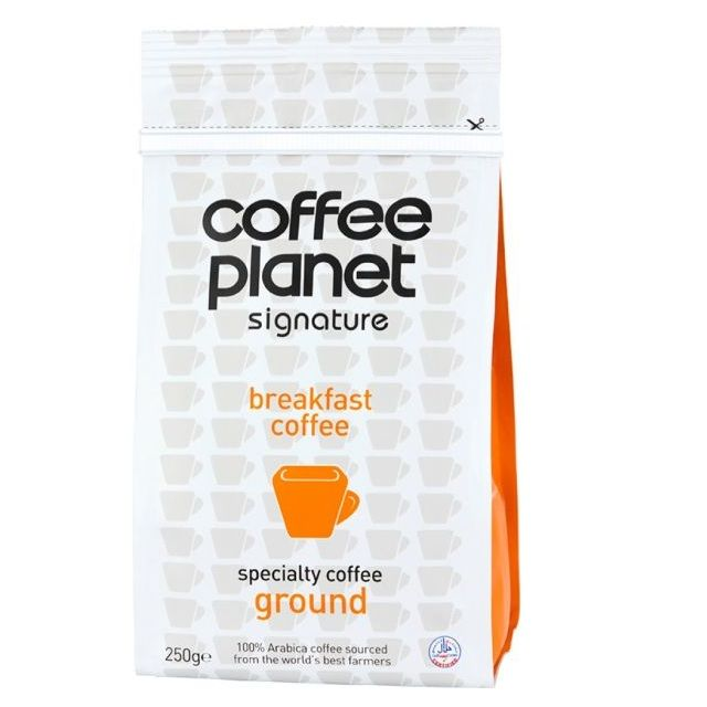 Coffee Planet Breakfast Coffee Ground 250g