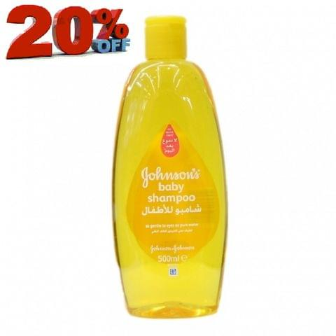 BABY SHAMPOO 500ML-20%OFF