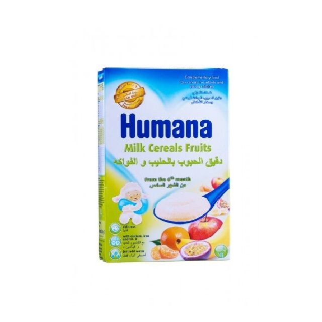 Humana Milk Cereal Fruits 250g