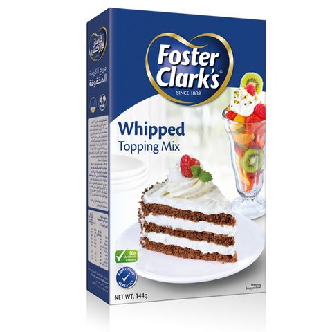 Foster Clark Whipped Topping Mix @Price Off 144gm