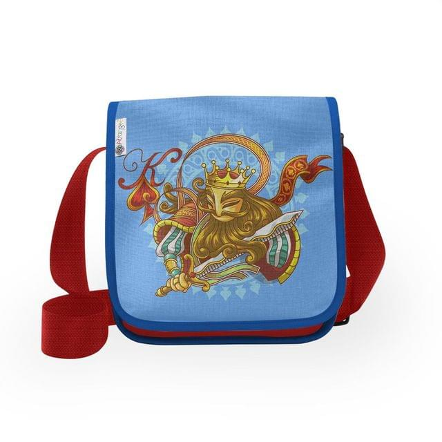 King Of Spades City Sling Bag