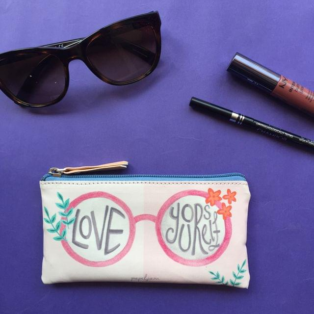 Love Yourself Sunglass Pouch