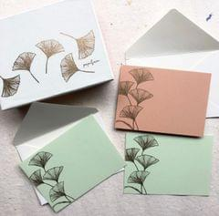 Ginko Notecard Set
