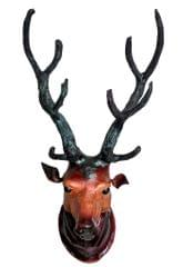 Leather Craft of Indore-Wall hanging-Barasingha (Swamp Deer)
