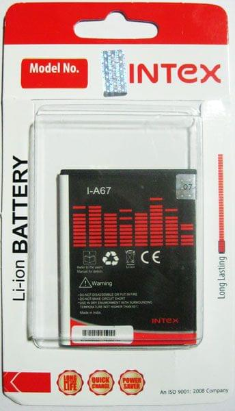 Intex I-A67 1800mAh Battery For Micromax Bolt A67