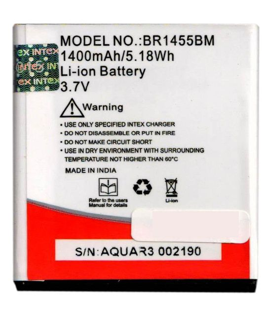 Intex BR1455BM Lithium Ion Battery For Intex Aqua R3
