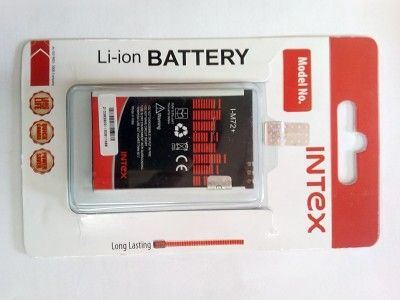 Intex Battery - ZEN M72+(RED BLACK)