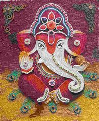 Ready Quilled Ganesha H