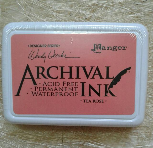 Archival Ink - Tea Rose