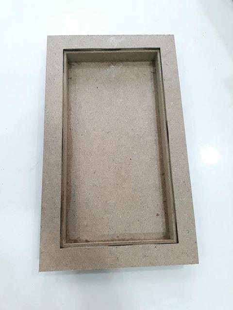 Wooden Tray in Rectangle Shape  8 X 13.5 inches in size