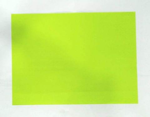 1/4 Tinted Drawing Sheet pack of 100 sheets Parrot Green in color