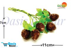Sugar head pollen Brown In Color Pack Of 2 Bunches.