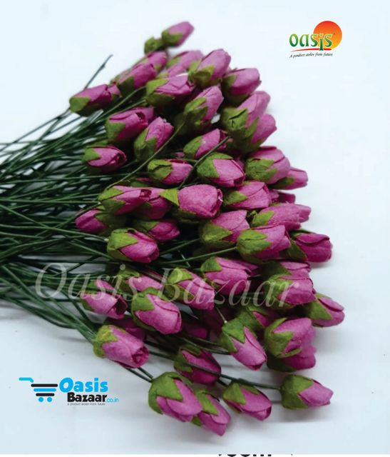 Micro Rose Buds Pack of 100 buds 10 mm in Size 01