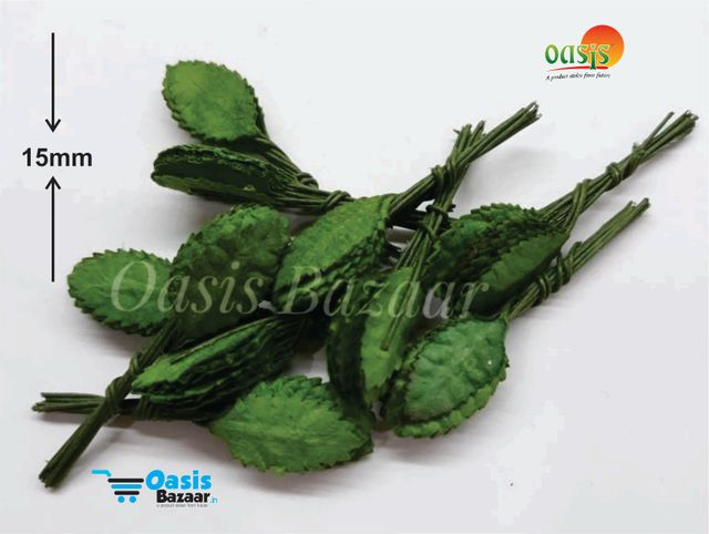 Mini Paper Leaves Shaded pack of 100 Leaves. 11