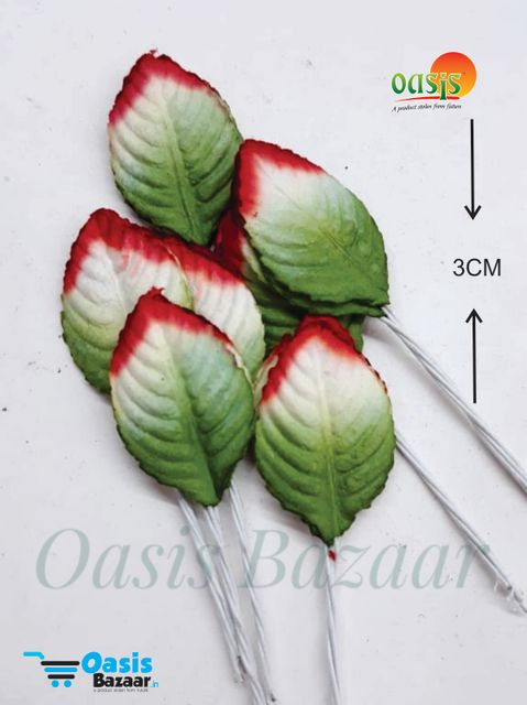 Color Shaded Leaves Pack of 50 Leaves 3 cm in size 01