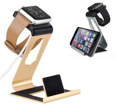 Callmate 3 in 1 Metal Charging Stand Station for Apple Watch iPhone