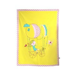 Cycling Girl Blanket