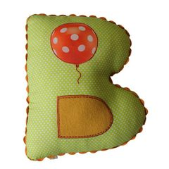 Alphabet Cushion B-BALOON