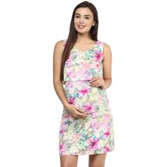 Women's PINK FLORAL TWO PIECE DRESS