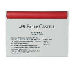 Faber Castell Red Stamp Pad-Small