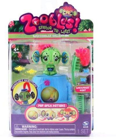 Zoobles Spring To Life Barnabus 207  (Multicolor)