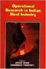 Operations Research in Indian Steel Industry