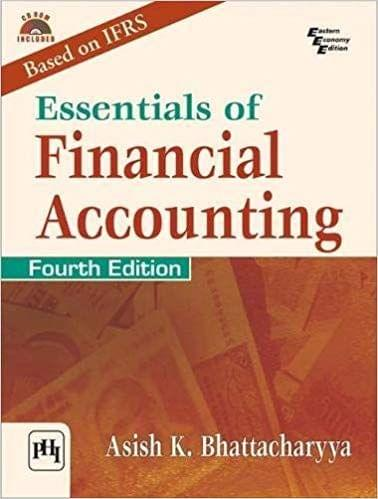 Essentials Of Financial Accounting Ed.4
