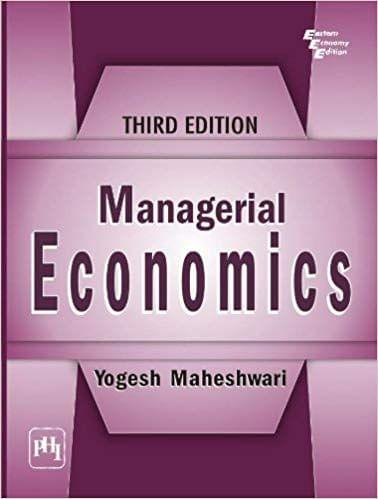 Managerial Economics Ed-3