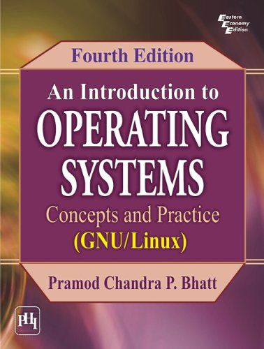 Intro To Oper Sys : Concepts & Practice  Ed-4