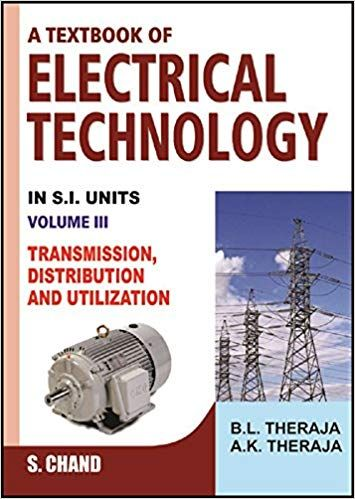 A Text Book Of Elctrical Technology--Vol--3