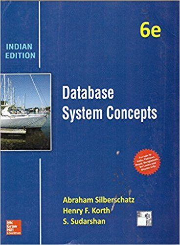 Database System Concepts Ed.6