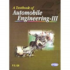 T.B. Of Automobile  Engg. Vol.3