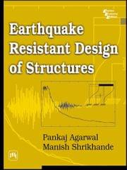 Earthquake Resistant Desigh Of Structures