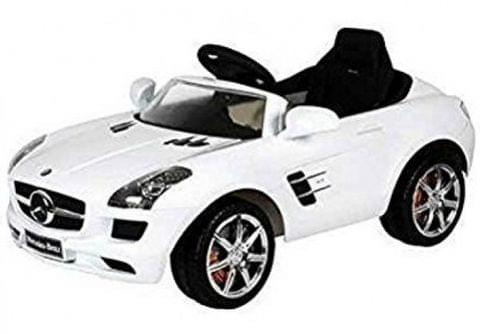 Officially Licensed Mercedes benz AMG white Battery Operated Ride On car