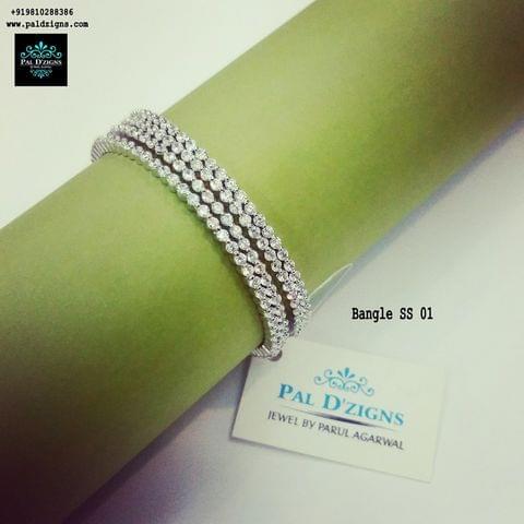 "Diamond Bangles 01 (2-4"")"
