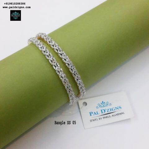 "Diamond Bangles 05 (2-6"")"