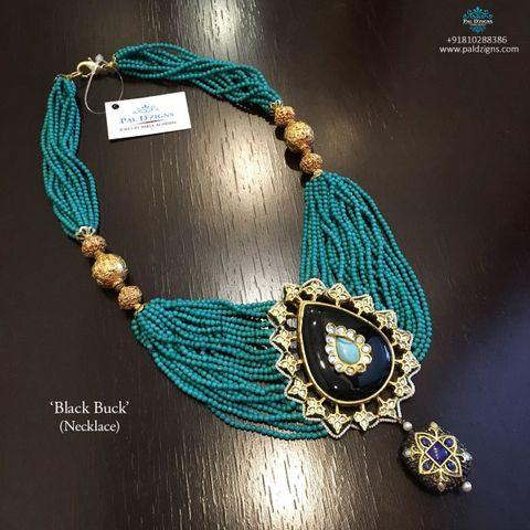 Black Buck Necklace