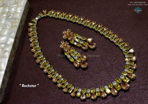 Rockstar necklace set