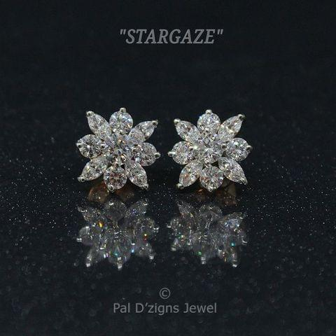 Star-Gaze Swarovski Earings