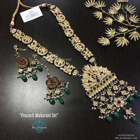 Peacock Maharani Set